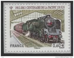 N° 711 , Centenaire De La Pacific  Valeur Faciale 0,60 € - France