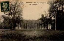 27-AMFREVILLE LA CAMPAGNE....LE CHATEAU  ....CPA - France