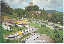 19200- 70 - Greene Eingemeindet In Kreiensen -  Burggaststätte  M Blick Auf Kleingolf Anlage Und Burg - Deutschland