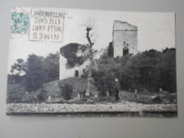 GARD SALINELLES RUINES DU CHATEAU DU BRU - France