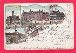 Old,Antiquität Post Card Of Breslau,Wrocław, Dolnośląskie, Poland ?,J65. - Poland