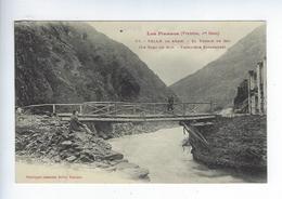 CPA 65 Valle De Aran Le Pont Du Roy Frontière Espagnole - France