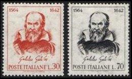 Italy, 1964, Galileo Galilei, Set, MNH, Mi# 1157/58 - 6. 1946-.. Republik