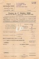 28-0215   1930  ELECTRICITE A POITIERS - M TRANCHANT BOUCHER A SAINT JULIEN L ARS - 1900 – 1949