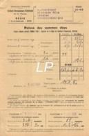 28-0216    1930  ELECTRICITE A POITIERS - M TRANCHANT BOUCHER A SAINT JULIEN L ARS - 1900 – 1949