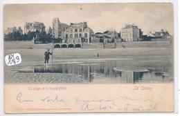 LE CROTOY- LA PLAGE ET LE GRAND HOTEL - Le Crotoy