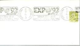 POSTMARKET ESPAÑA   CARTAGENA - 1992 – Sevilla (España)