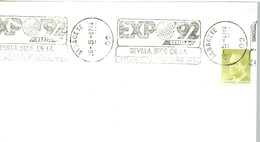 POSTMARKET ESPAÑA   ALBACETE - 1992 – Sevilla (España)