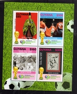 GUYANA 2006 FIFA WORLD CUP FOOTBALL GERMANY GERMANIA COPPA DEL MONDO BLOCK SHEET BLOCCO FOGLIETTO BLOC FOUILLET MNH - Guiana (1966-...)