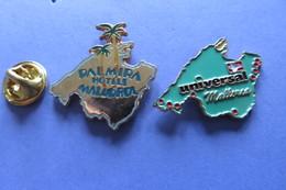 2 Pin's,ville,ile,MALLORCA, Palmire - Cities