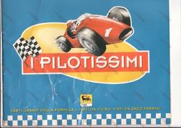 ALBUM I PILOTISSIMI - 20 GRANDI DI FORMULA 1 VISTI DA E. FERRARI - - Stickers