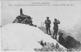 (alpinisme, Tinée) Grand Cimon De Rabuons. Cliché De Victor De Cessole, 1910, SUP. - Alpinisme