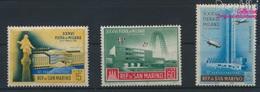 San Marino 587-589 (kompl.Ausg.) Postfrisch 1958 Mailänder Messe (9268989 - Neufs