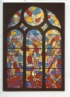 Alfred Manessier - Vitrail église Saint Benigne Monument Historique Pontarlier (cp Vierge) - Arts