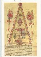 Sultan II Mahmud'un Tugrasi (1809) Tugra  Turkie (cp Double Vierge) Illuminures Miniature - Arts