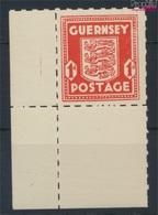 Guernsey (Dt.Bes.2.WK.) 2 Mit Falz 1941 Freimarke (9260334 - Besetzungen 1938-45
