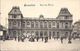 BRUSSEL BRUXELLES GARE DU MIDI - Spoorwegen, Stations