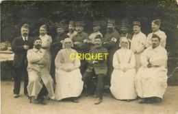 Guerre 14-18, Carte Photo De Médecins Militaires Et D'infirmières - Guerra 1914-18