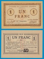 Frankreich - France 1 Franc Notgeld 1915 D'AMIENS UNC   (18913 - France