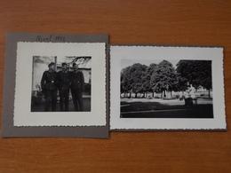 WW2 GUERRE 39 45 NIORT SOLDATS ALLEMANDS 1942 SUR UNE PLACE - Niort