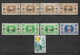 Colonie Wallis Et Futuna De 1945/52  N°148 A 156  Neufs * Petite Trace De Charnière - Wallis-Et-Futuna