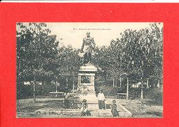SAIGON Cpa Animée Statue De François Garnier      8  Edit Planté - Viêt-Nam