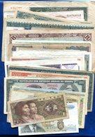 LOT 50 BILLETS DIVERS MONDE ET FRANCE DANS L ETAT - Banknotes