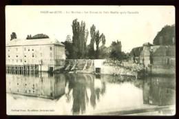 ARCIS-SUR-AUBE - Les Moulins - Les Ruines Du Petit Moulin Après L' Incendie - (Beau Plan) - Arcis Sur Aube