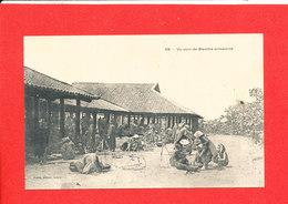 Un Coin Du Marché Annamite Cpa Animée 59 Edit Planté - Viêt-Nam
