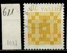 Lituanie - Lithuania - Litauen 1999 Y&T N°611 - Michel N°684 (o) - 70c Croix De Jogaila - Lithuania