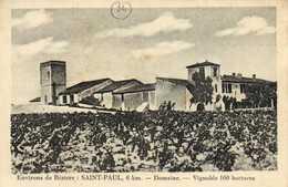 Environs De BEZIERS  SAINT PAUL 6Km Domaine Vignobles 100 Hectares RV AIR DU CHAMEAU DE BEZIERS (Fibre Et Tambourin) - France