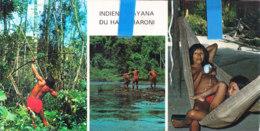 Tyu-  Guyane  Cpsm Panoramique  INDIENS WAYANA - Guyane