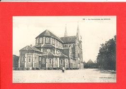SAIGON Cpa Animée La Cathédrale   55  Edit Planté - Vietnam