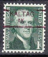 USA Precancel Vorausentwertung Preo, Locals Alaska, Kaltag 835,5 - Vereinigte Staaten