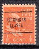 USA Precancel Vorausentwertung Preo, Locals Alaska, Ketchikan 704 - Vereinigte Staaten