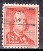USA Precancel Vorausentwertung Preo, Locals Alaska, Kiana 841 - Vereinigte Staaten