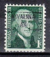 USA Precancel Vorausentwertung Preo, Locals Alaska, Kivalina 841 (a1.5) - Vereinigte Staaten