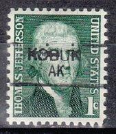 USA Precancel Vorausentwertung Preo, Locals Alaska, Kobuk 835,5 - Vereinigte Staaten