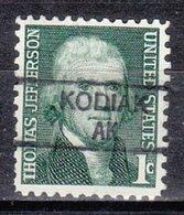 USA Precancel Vorausentwertung Preo, Locals Alaska, Kodiak 835,5 (D/A) - Vereinigte Staaten
