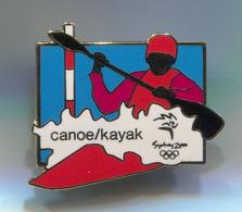 Rowing Canoe Kayak - Sydney Olympic Games, Enamel Pin, Badge, Abzeichen - Roeisport