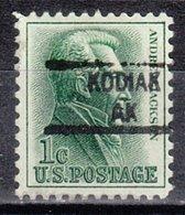 USA Precancel Vorausentwertung Preo, Locals Alaska, Kodiak 841 - Vereinigte Staaten