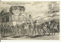 45 - MONTARGIS / DILIGENCE DES MESSAGERIES GENERALES DE FRANCE - Montargis
