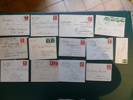 KARTONNEN DOOS 10    VENTE RAPIDE      25 LETTRES BAYERN - Bavière