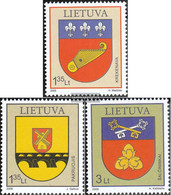 Lithuania 1000-1002 (complete.issue.) Unmounted Mint / Never Hinged 2009 Crest - Lithuania