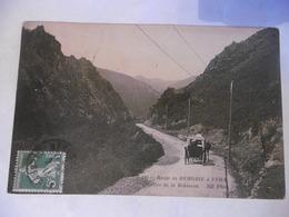 (64)-CPA ANIMEE 1913 D'origine-(PYRENEES ATL.)-ROUTE DE BEHOBIE:la Vallee De Bidassoa - Béhobie