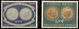 Congo 0327/8** - 25eme Institut Colonial - MNH - - Congo Belge