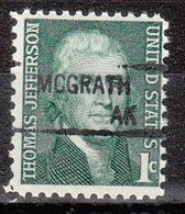 USA Precancel Vorausentwertung Preo, Locals Alaska, McGrath 841 - Vereinigte Staaten