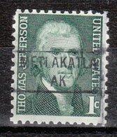 USA Precancel Vorausentwertung Preo, Locals Alaska, Metlakatla 841 - Vereinigte Staaten
