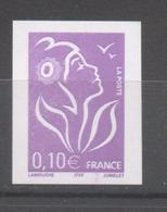 Marianne De Lamouche 0,10 € De 2005 YT 3714 II  Sans Trace De Charnière RARE - France