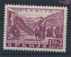 Serbien (Dt.Bes.2.WK.) 48A Postfrisch 1941 Katastrophenhilfe (9260632 - Besetzungen 1938-45